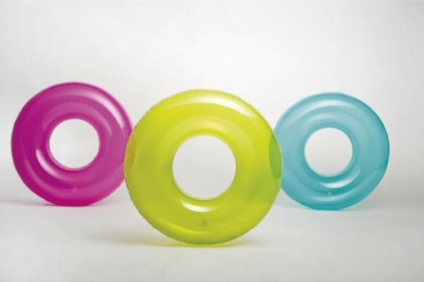 Kruh nafukovací 76cm asst 3 barvy v sáčku