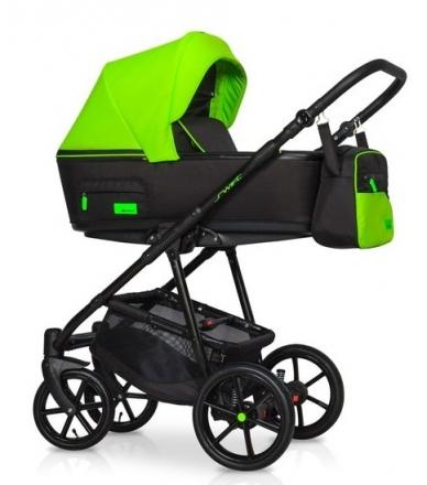Dětský kočárek 2v1, Riko 2019 - Swift Neon - Ufo Green