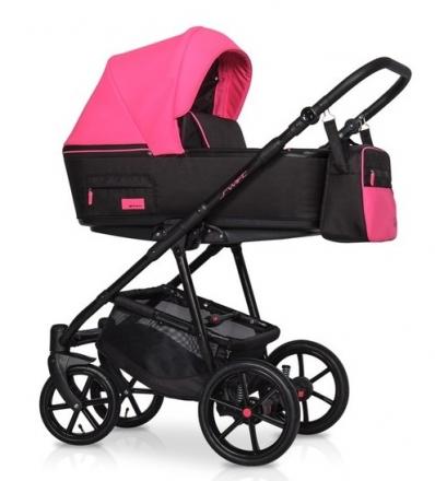 Dětský kočárek 2v1, Riko 2019 - Swift Neon - Electric Pink