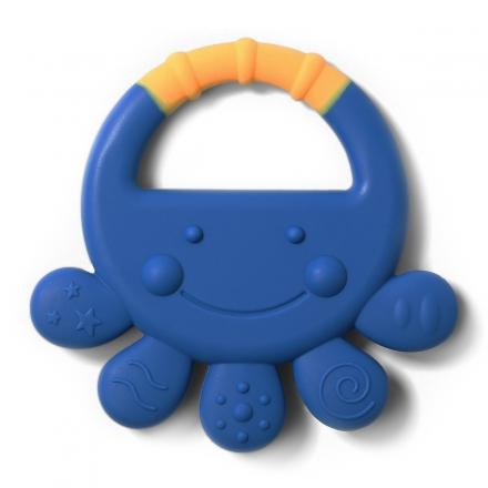BabyOno Dětské kousátko Chobotnička Viky, kat.934 - modrá