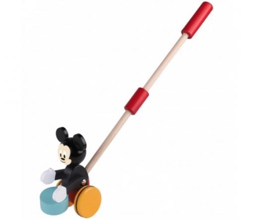 Dřevěná hračka Disney tahací- Mickey Mouse