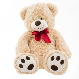 Euro Baby Plyšový medvídek 60 cm - béžový