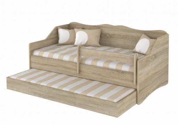 BabyBoo Dětská postel LULU 160 x 80 cm - Dub Sonoma