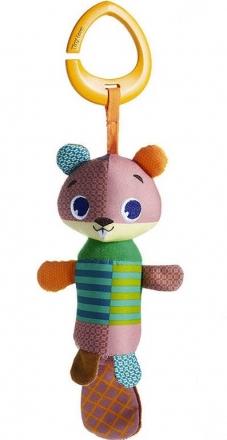 Tiny Love Závěsná hračka s chrastítkem, 22cm - Bobr Albert