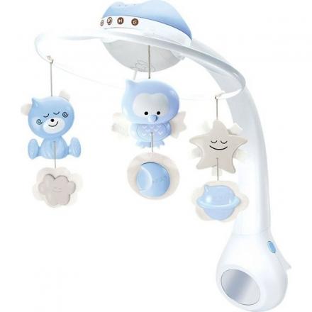 Infantino Hudební kolotoč s projekcí 3v1 - modrý