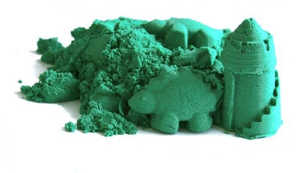 NaturSand Kinetický písek - zelený - 2kg