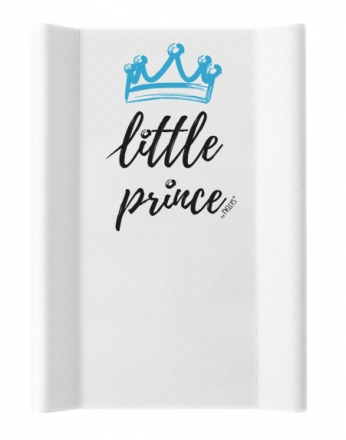 NELLYS Přebalovací podložka , tvrdá MDF, vyvýšené boky, Little Prince, 50 x 70cm, bílá