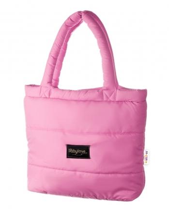 Baby Nellys taška na kočárek STYLE, světle růžová
