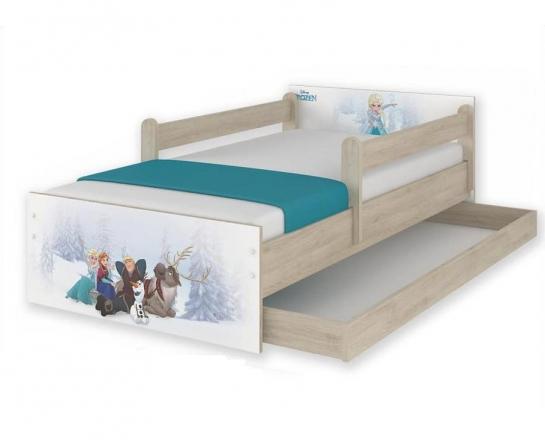 BabyBoo Dětská junior postel Disney 200x90cm - Frozen + šuplík