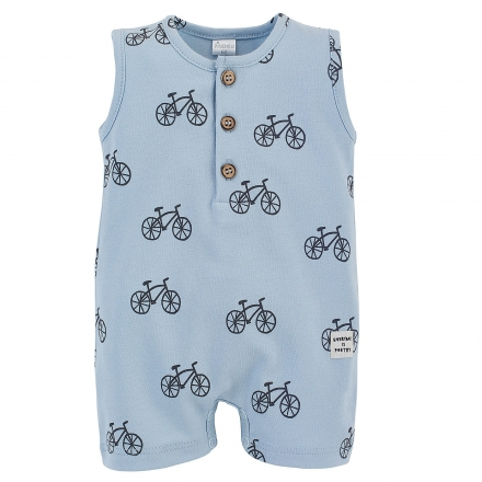 Pinokio Body s nohavičkami Summertime - Kola - modré, vel. 80