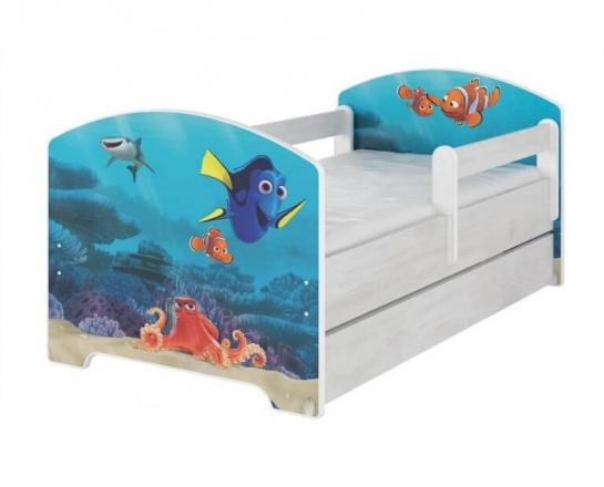 BabyBoo Dětská postel 160 x 80cm - Dorry + šuplík