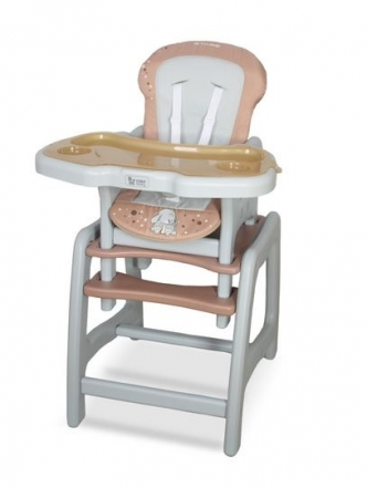 Jídelní stoleček Coto Baby STARS brown