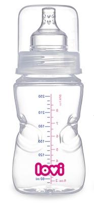 Lahvička LOVI samosterilizační 250ml LOVI