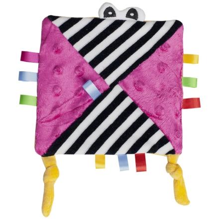 Hencz Toys Mazlík šuštik s očičkama - růžový