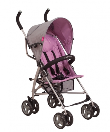 Golfový kočárek Rhythm Coto Baby 2020 fialová/šedá