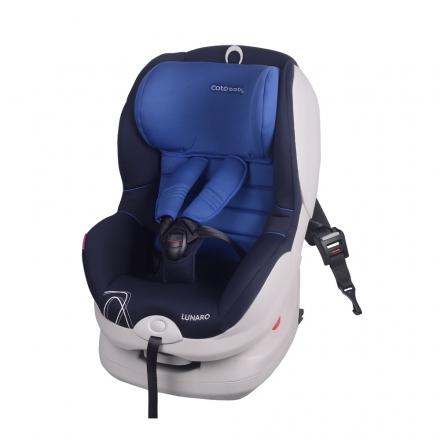 Coto Baby Autosedačka LUNARO 2016 Isofix - 9-18 kg - Modrá