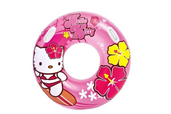Rappa Nafukovací kruh Hello Kitty, 97 cm