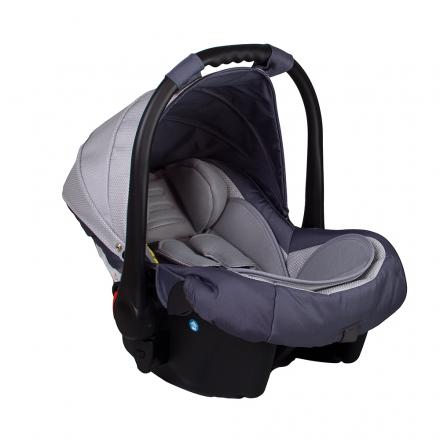 Autosedačka 0 -13kg Coto Baby APRILIA - jemná kostička, light grey