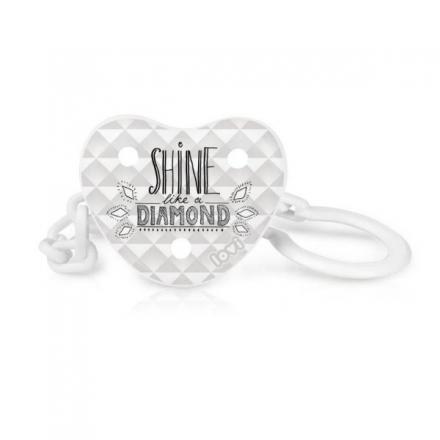 Lovi řetízek na dudlík s klipsou DIAMOND