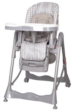 Jídelní židlička COTO BABY Mambo Grey