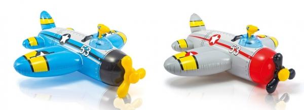 Nafukovací hopsadlo letadlo 132 cm x 130 cm, 2 druhy