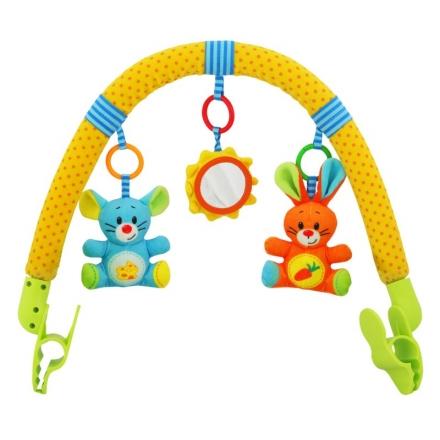 BABY MIX Oblouk s hračkami ke kočárku