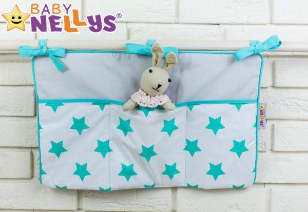 Praktický kapsář na postýlku Baby Nellys ® - č. 03 Baby Nellys