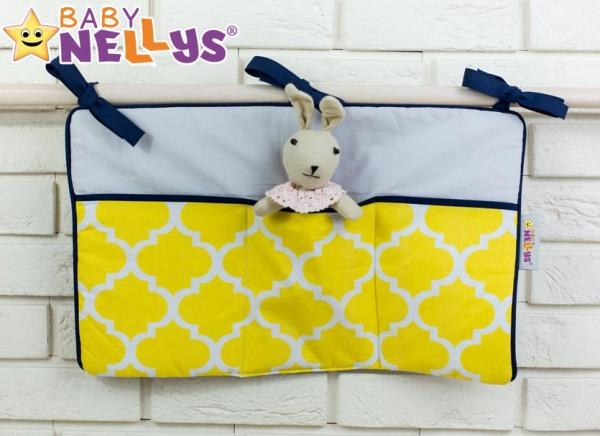 Praktický kapsář na postýlku Baby Nellys ® - č. 13 Baby Nellys