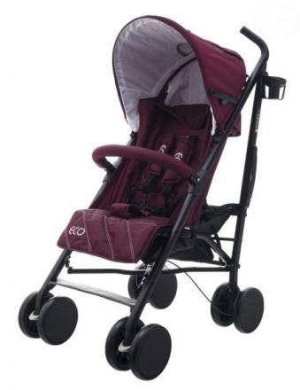 Euro Baby Sportovní kočárek Eco Swiss design - purple red, K19