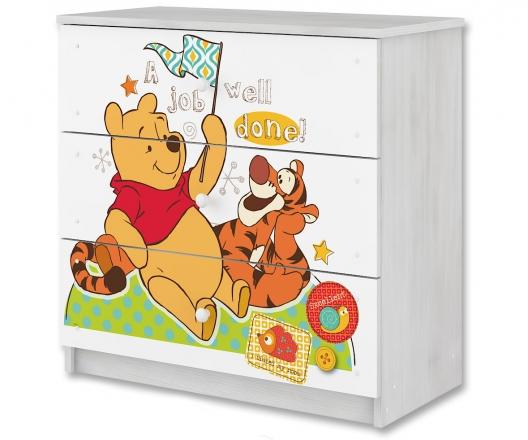 BabyBoo Disney dětská komoda - Medvídek PÚ a tygřík, D19