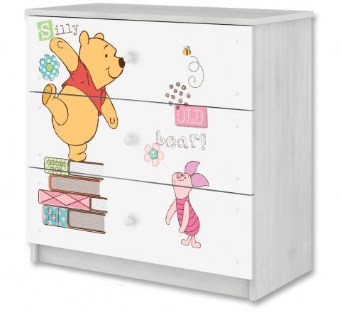 BabyBoo Disney dětská komoda - Medvídek PÚ a prasátko, D19