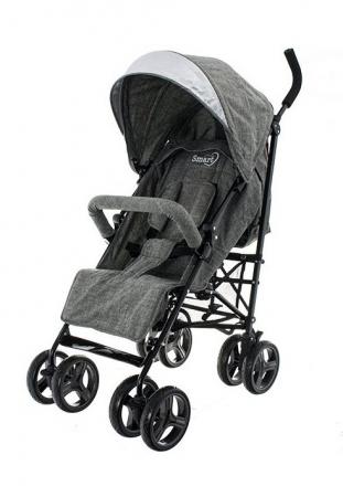 Euro Baby Dětský sportovní kočárek Smart Pro, 2019 - šedý, Ce19