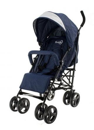 Euro Baby Dětský sportovní kočárek Smart Pro, 2019 - blue, Ce19