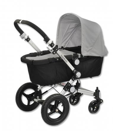 Euro Baby Dětský kočárek BAOBAO Standart - šedý