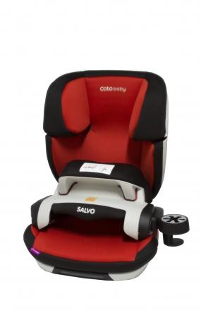 Coto Baby Autosedačka Salvo Isofix - skupina 9-36 kg - červená