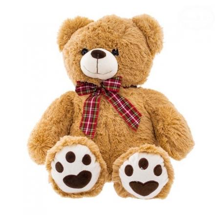 Euro Baby Plyšový medvídek 46cm - sv. hnědý