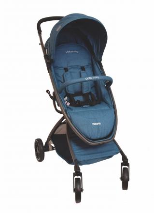 Coto Baby Kočárek Verona 2020 Comfort Line - Turquoise Linen