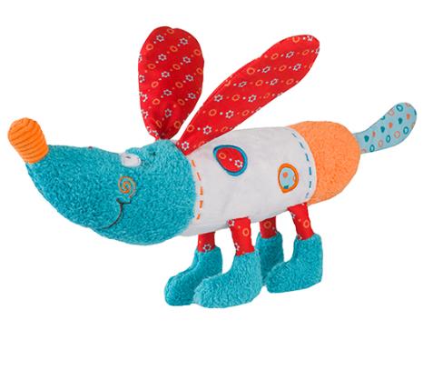 BabyOno Edukační hračka - chrastítko - Pejsek Bob