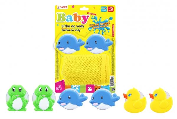 Síťka do vany na hračky 3 druhy