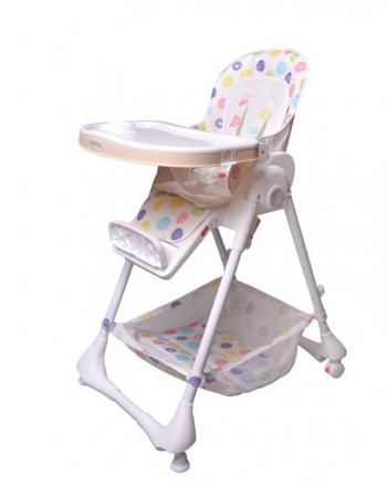 Jídelní stoleček Eco Toys - bílý