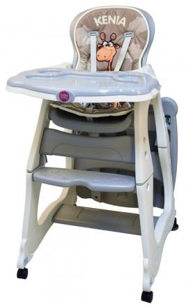 Coto Baby Jídelní židlička Kenia 2018 - šedá