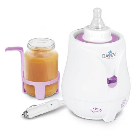 BAYBY Ohřívač kojeneckých láhví a pokrmů - Car/Home