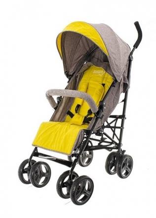 Euro Baby Dětský sportovní kočárek Smart Pro, 2019 - žlutý, Ce19