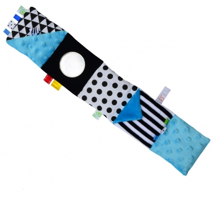 Hencz Toys Mini textilní knížka - modrá