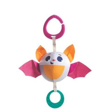 Tiny Love Závěsná hračka s chrastítkem, 12cm - Netopýr