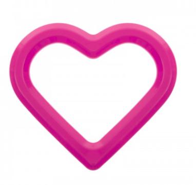 AKUKU Vodní kousátko Srdce - růžové