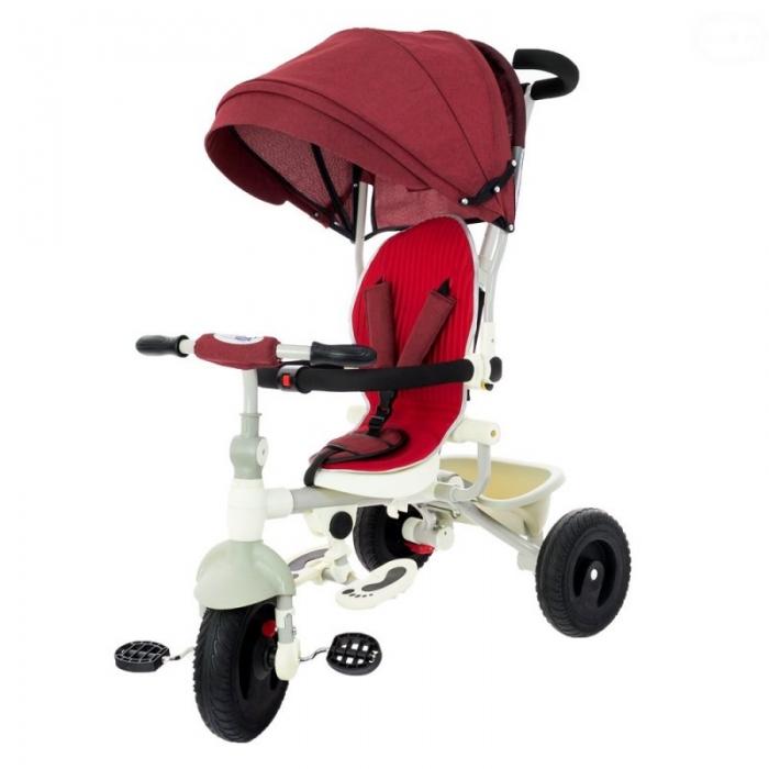 Dětská tříkolka Euro Baby - červená