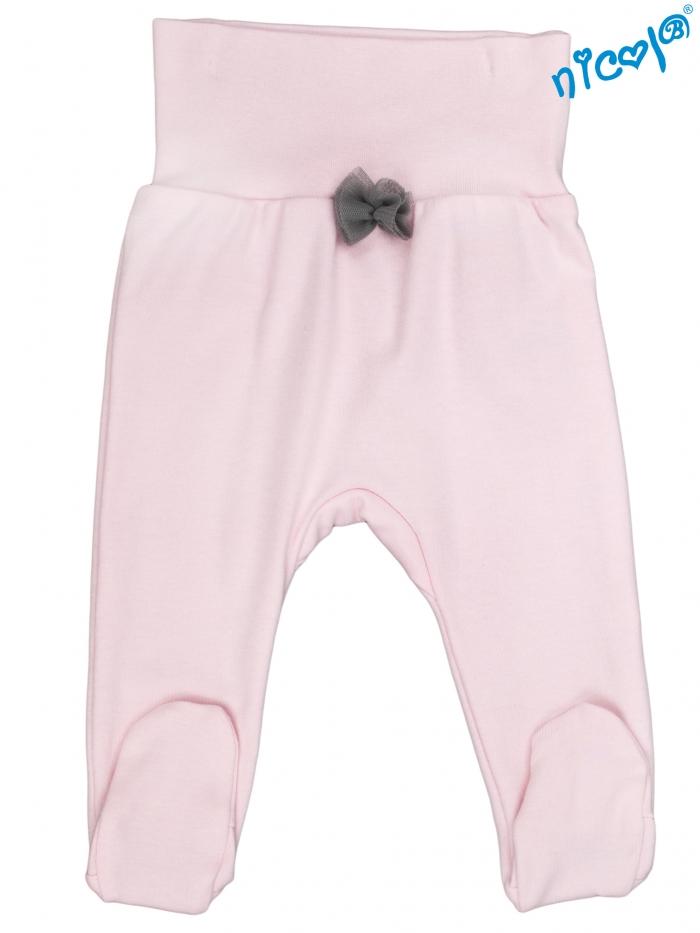 Kojenecké polodupačky Nicol, Baletka - růžové, vel. 56