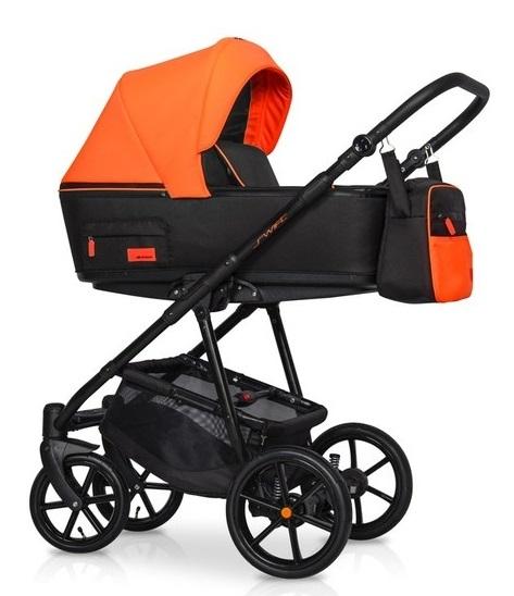 Dětský kočárek 2v1, Riko 2019 - Swift Neon - Party Orange