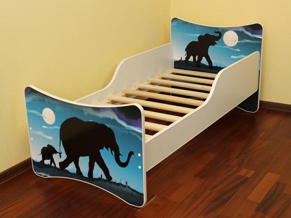 Dětská postel Afrika - 160x80 cm